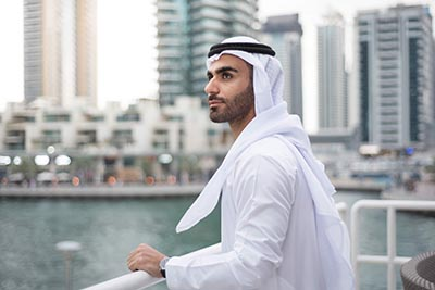 Man in Dubai